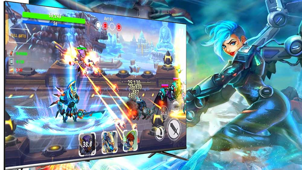 Heroes Infinity Android TV BOX Game