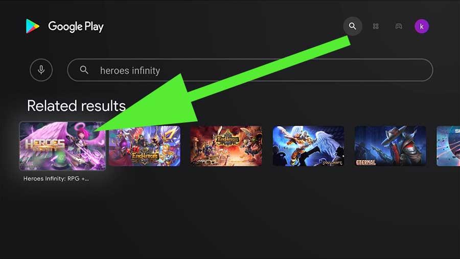 Heroes Infinity Android TV BOX, Heroes Infinity Google TV