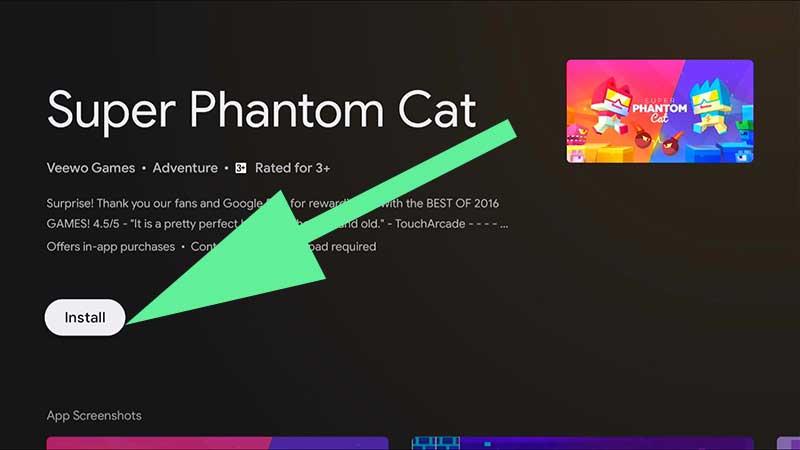 Install super phantom Cat TV