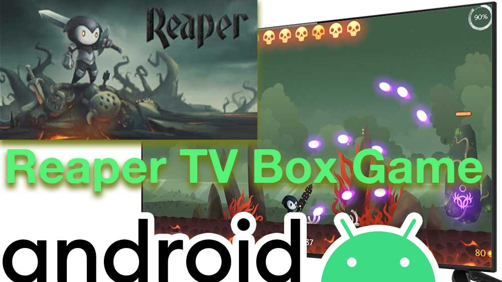 Reaper Android TV BOX, Reaper Firestick, Role playing TV Game