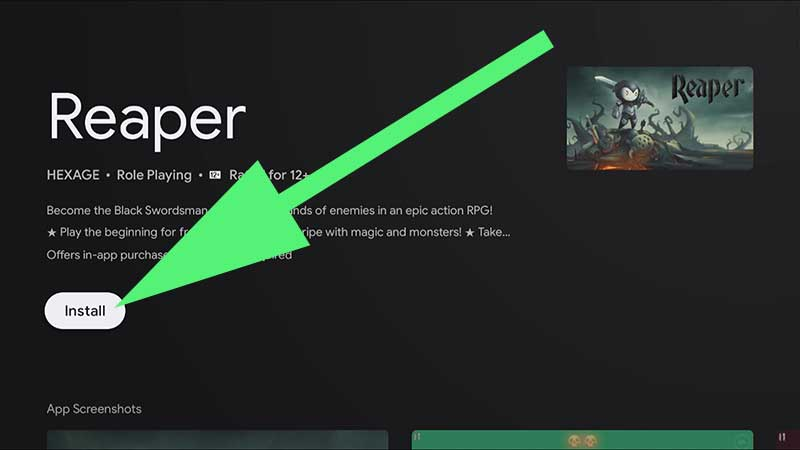 reaper android tv, reaper firestick, reaper google tv, reaper tv