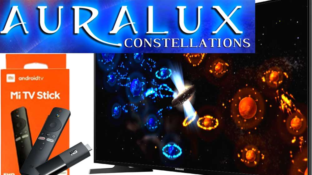 auralux constellations TV box
