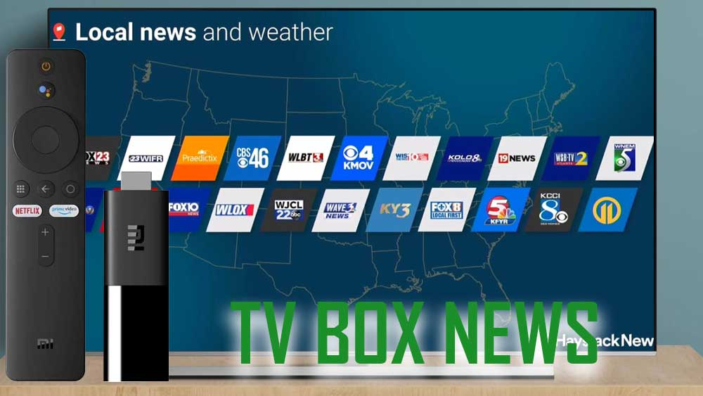 Android TV BOX News App