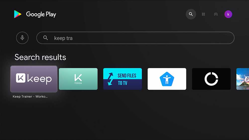 Home Workout app for TV BOX