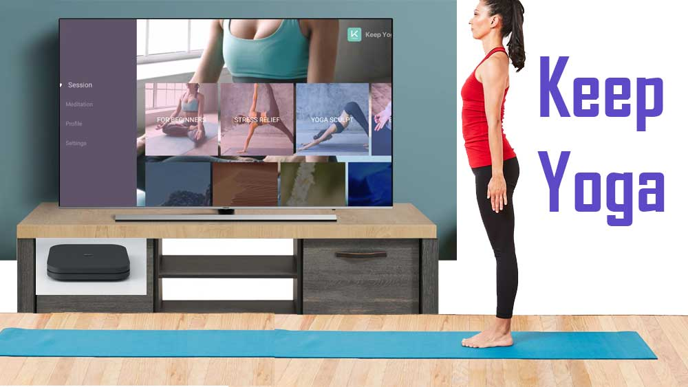 Keep Yoga for Android TV and Fire TV Stick