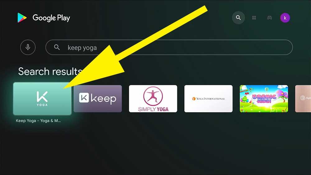 Yoga App for Fire TV Stick