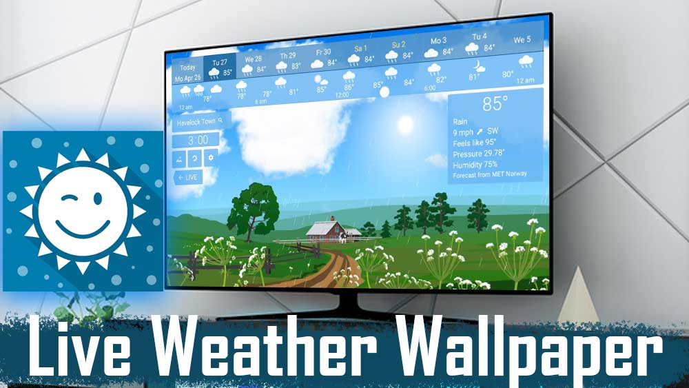 Android TV BOX Live Weather