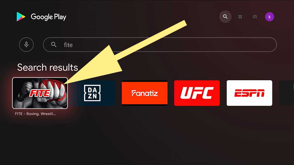 Boxing and MMA app TV BOX