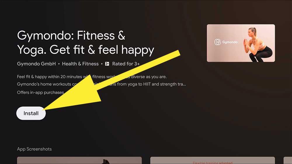 Fire TV Stick Fitness App