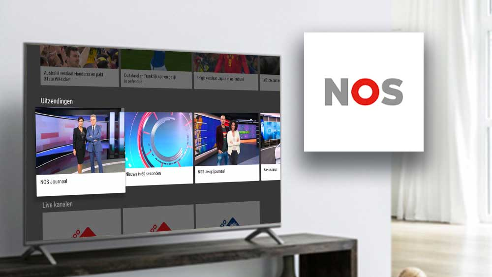 Android TV News App NOS