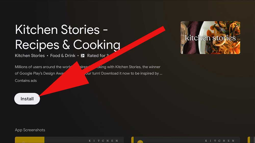 Cooking Videos for Fire TV and TV BOX