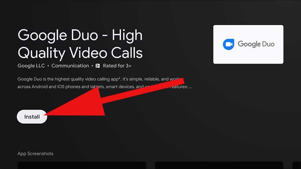 Fire TV video call app