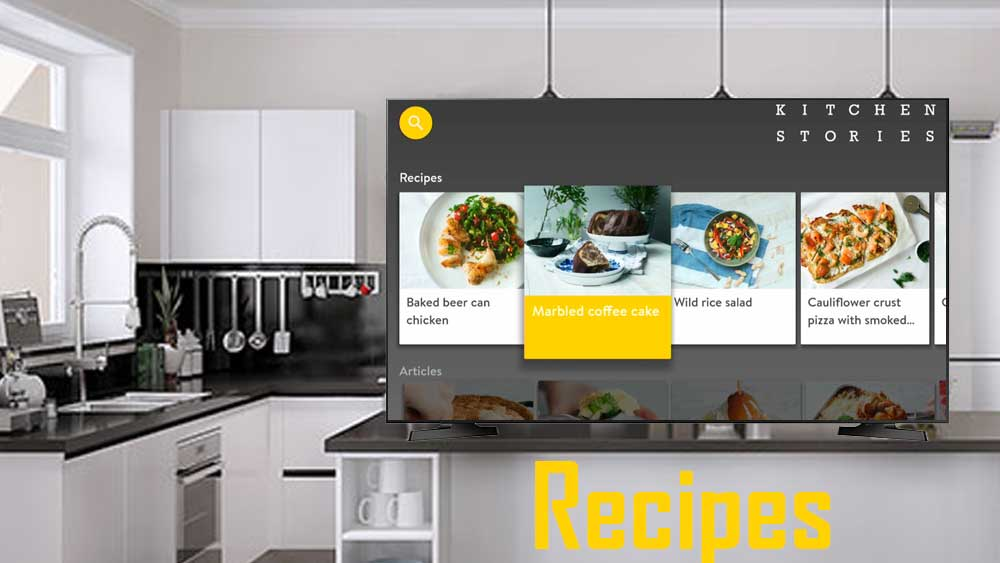 Kitchen Stories for Android TV BOX