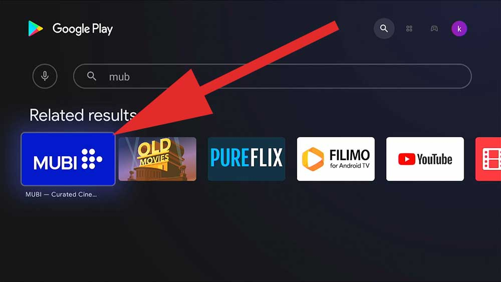 MUBI for Android TV BOX and Fire TV