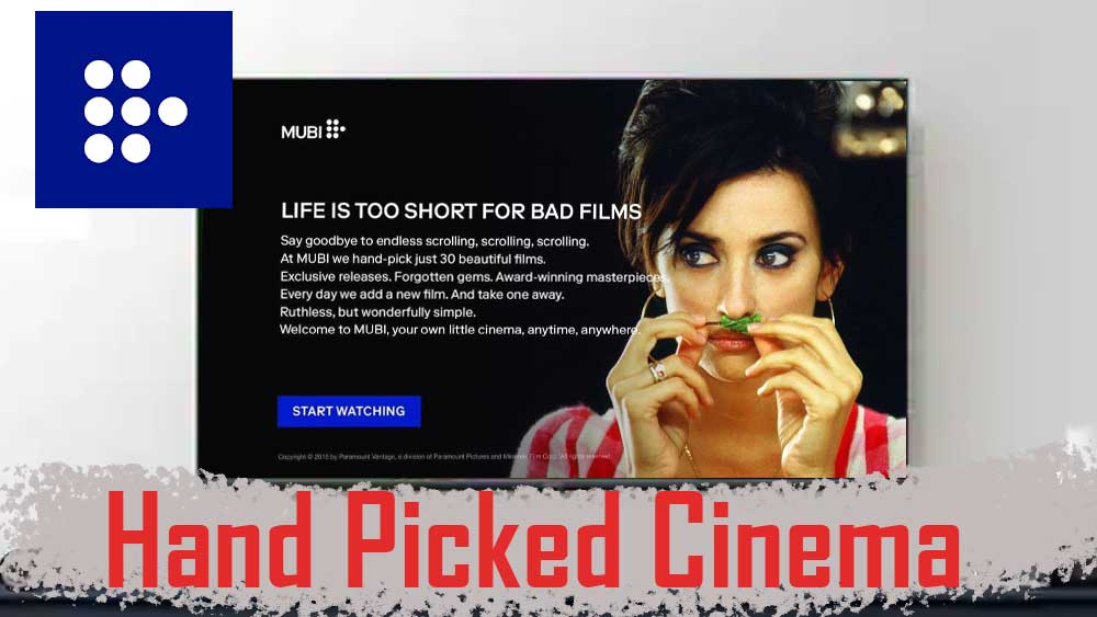 Mubi curated cinema for TV