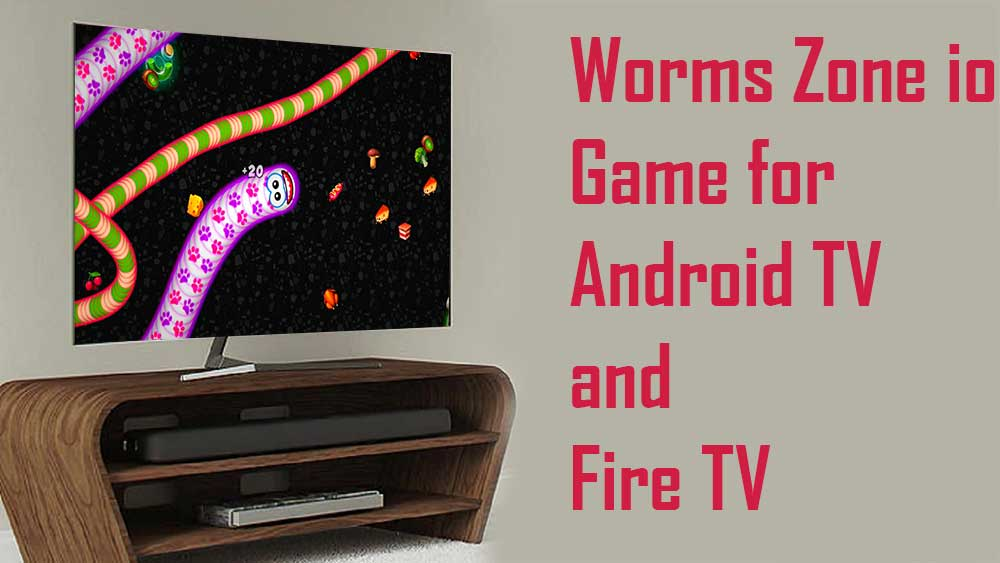 Worms Zone io for TV BOX