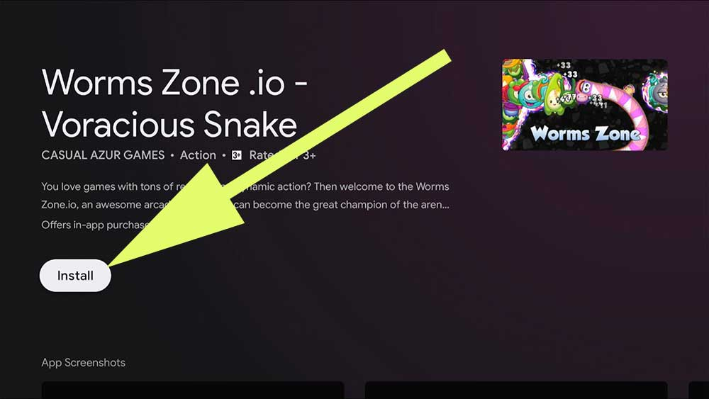 Worms Zone Fire TV