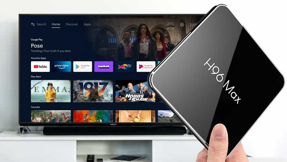 H96 MAX X2 - Android TV BOX