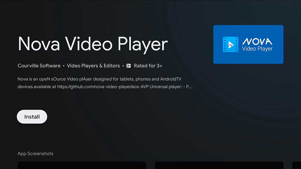 Nova Media Player for Firestick