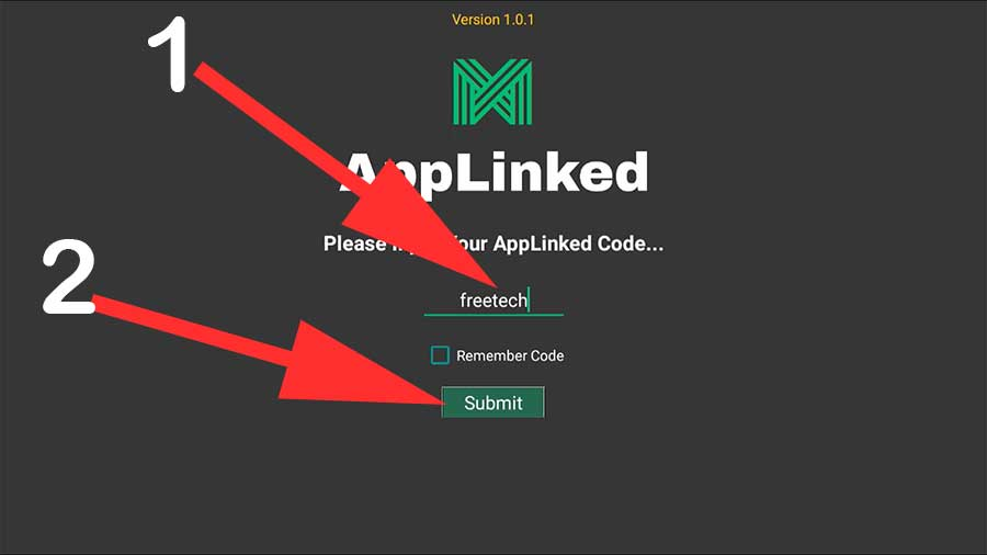 Using AppLinked Codes