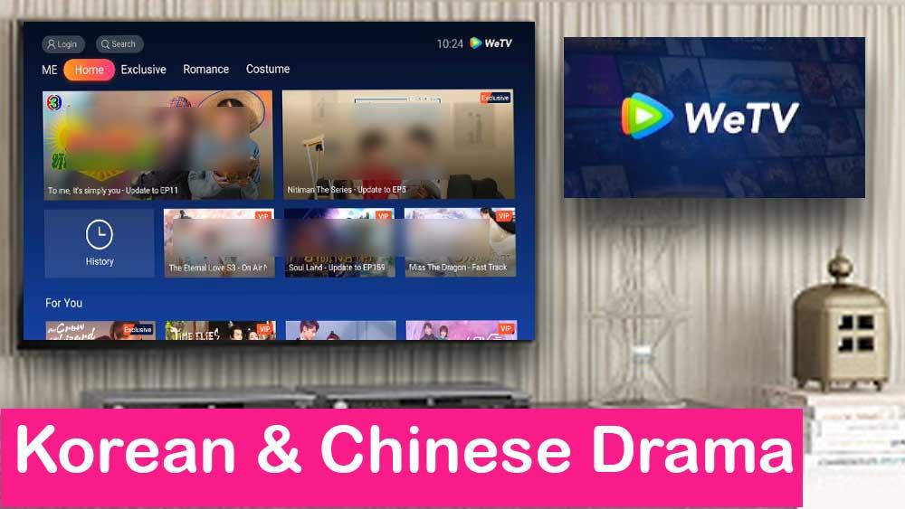 WeTV CDrama And KDrama for TV BOX