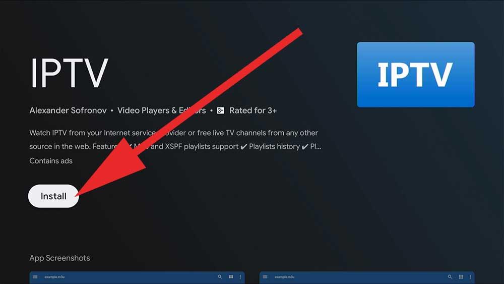 IPTV Android TV BOX