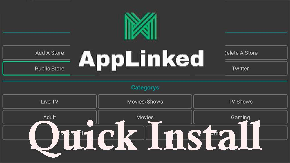 Quick Install AppLinked