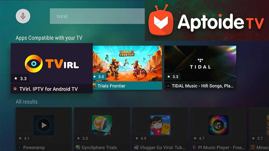 TViral IPTV for Fire TV
