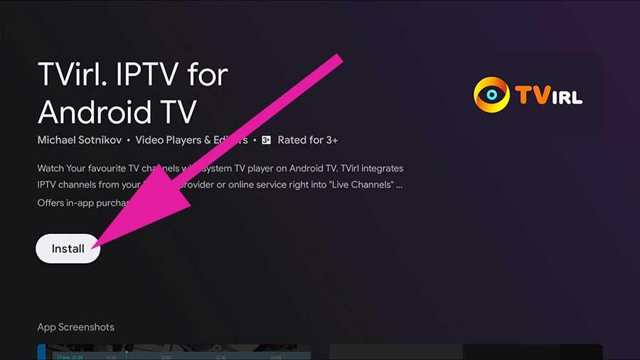 TViral IPTV media Player