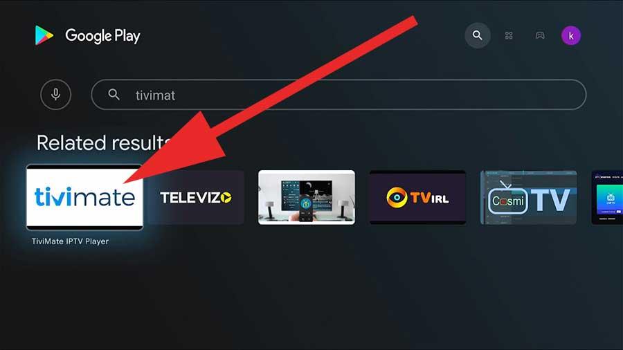 TiviMate IPTV Android TV