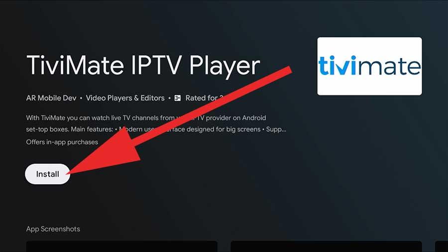 TiviMate IPTV Fire TV