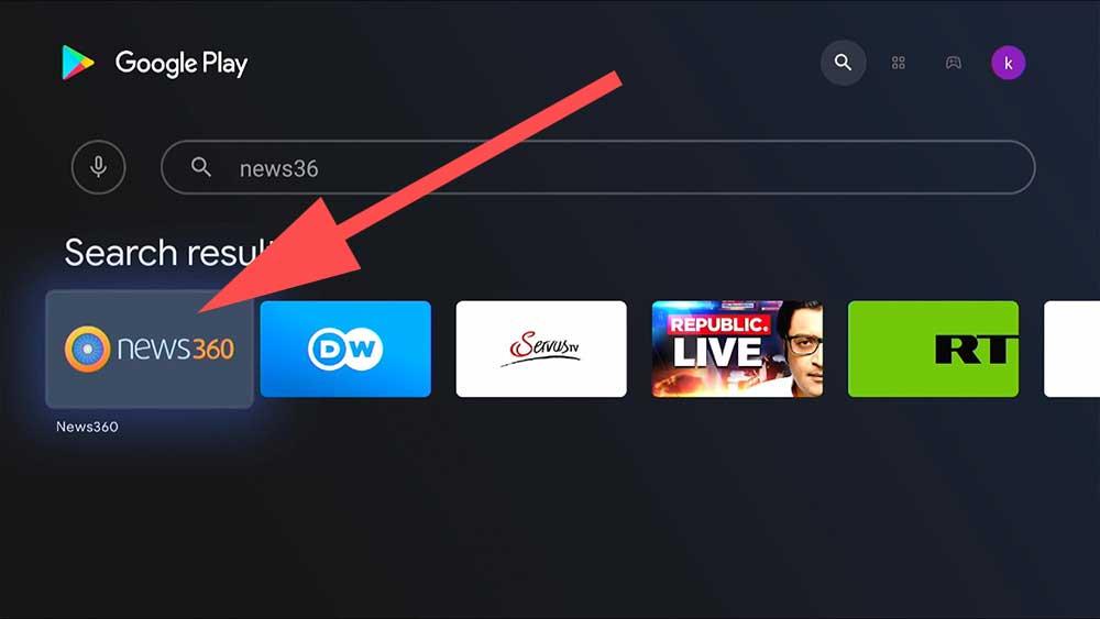 Fire TV News Stories App