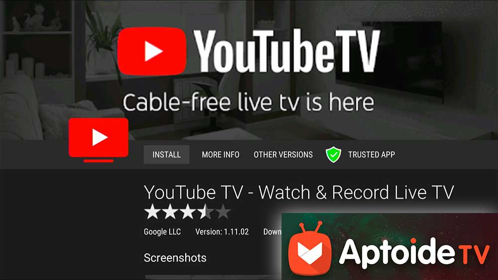 YouTube TV download for TV BOX